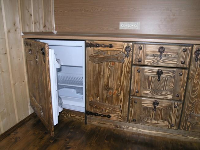 Как сделать кухонную мебель из дерева своими руками